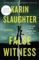 False witness [Large Print Edition]
