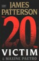 The 20th victim / [Large Print Edition]