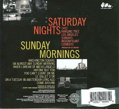 Cover of Saturday Nights & Sunday Mornings