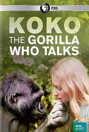 Cover of Koko: The Gorilla who Talks