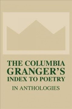 Granger's Index to Poetry in Anthologies