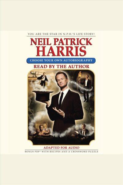 Audiobook cover of Neil Patrick Harris.
