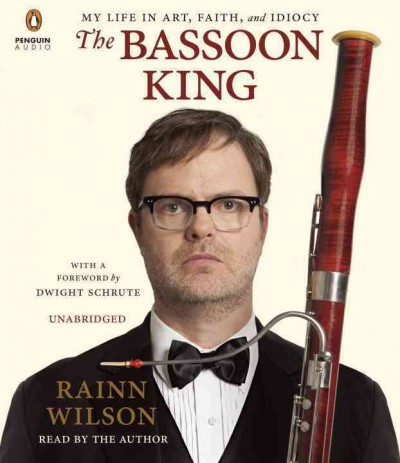 Audiobook cover of The Bassoon King.