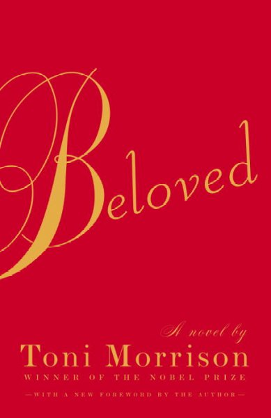 Cover of the novel Beloved by Toni Morrison