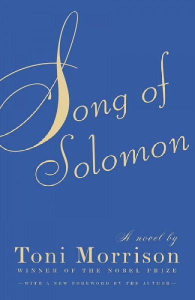 Cover of Song of Solomon by Toni Morrison