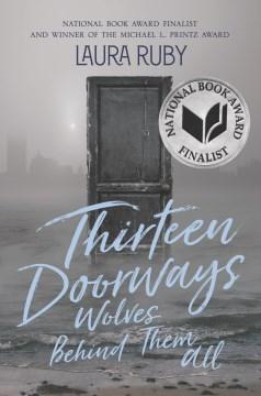 Trece puertas, lobos detrás de todos ellos, portada del libro