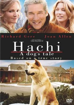 Hachi:  A Dog's Tale , book cover
