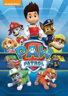 Paw Patrol, book cover