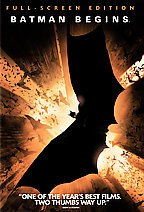 Batman begins / DVD [videorecording] by Warner Bros. Pictures presents in association with Legendary Pictures ; a Syncopy production ; produced by Emma Thomas, Charles Roven, Larry Franco ; story by David S. Goyer ; screenplay by Christopher Nolan and David S. Goyer ; directed by Christopher Nolan.