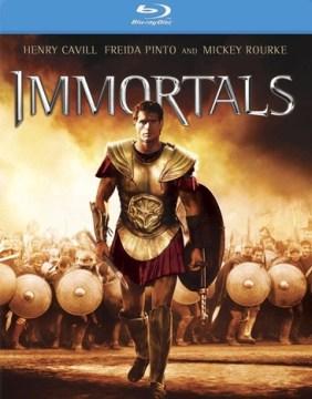 Immortals / Relativity Media presents ; in association with Virgin Produced ; written by Charles Parlapanides and Vlas Parlapanides ; produced by Gianni Nunnari, Mark Canton, Ryan Kavanaugh ; directed by Tarsem Singh Dhandwar.