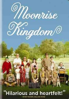 Moonrise kingdom [videorecording] by Focus Features and Indian Paintbrush present an American Empirical picture ; produced by Wes Anderson ... [et al.] ; written by Wes Anderson and Roman Coppola ; directed by Wes Anderson.