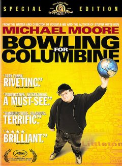 Bowling for Columbine [videorecording] by United Artists and Alliance Atlantis present a Salter Street Films and VIF 2 production, a Dog Eat Dog Films production ; producers, Michael Moore ... [et al.] ; written and directed by Michael Moore.