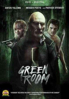 Green Room, book cover