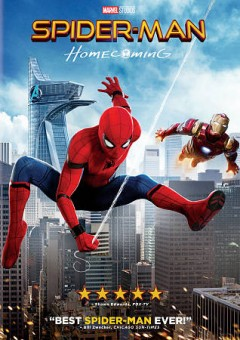 """Spider-Man: homecoming (Motion picture);""""Spider-man. Homecoming : [videorecording] Columbia Pictures presents a Marvel Studios/Pascal Pictures production ; produced by Kevin Feige, Amy Pascal ; screenplay by Jonathan Goldstein [and five others] ; directed by Jon Watts."""""""