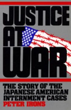 Justicia en guerra, portada del libro