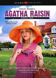 Agatha Raisin. Series two / a Free@Last TV Company Pictures Production for Acorn TV ; co-produced by Acorn Media Enterprises, a division of RLJ Entertainment ; produced by Guy Hescott ; directed by Roberto Bangura, Matt Carter, Audrey Cooke ; written by Julia Gilbert, Chris Murray, Chris Niel.