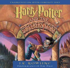 Harry Potter and the sorcerer's stone [sound recording] by J.K. Rowling.