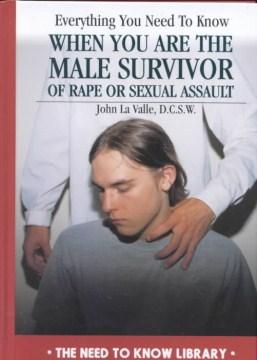 Todo lo que necesita saber cuando es un sobreviviente masculino de violación o agresión sexual, portada del libro