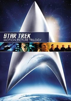 Star Trek: the Motion Picture Trilogy, book cover