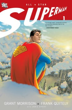 All-Star Superman , book cover