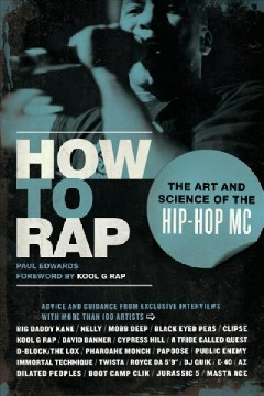 How to Rap, book cover