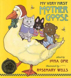 My Very First Mother Goose, book cover