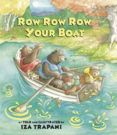 Row, row, row your boat, book cover