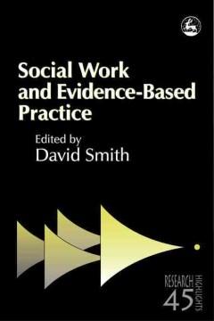 Trabajo social y P basada en evidenciaractice, portada del libro
