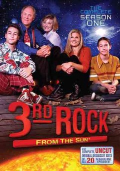 3rd rock from the sun, the complete season one (DVD) [videorecording] by 09/13/2011.