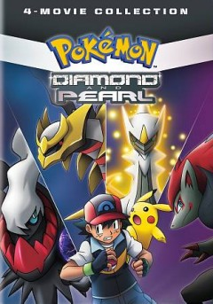 Pokemon diamond and pearl 4-movie collection [videorecording] by Originally released as motion pictures 2007-2010.