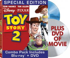 Toy story 2 [videorecording] by Walt Disney Pictures presents a Pixar Animation Studios film ; produced by Helene Plotkin and Karen Robert Jackson ; original story by John Lasseter ... [and others] ; screenplay by Andrew Stanton ... [and others] ; directed by John Lasseter.