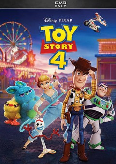 Toy story 4 [videorecording] by Disney presents a Pixar Animation Studios film ; directed by Josh Cooley ; produced by Jonas Rivera, Mark Nielsen ; screenplay by Stephany Folsom and Andrw Stanton.