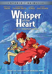 Whisper of the heart [dvd] by screenplay and storyboards by Hayao Miyazaki ; producer, Toshio Suzuki ; directed by Yoshifumi Kond¿‍ ; ADR production, Buena Vista Sound Services ; screenplay by Cindy Davis Hewitt, Donald H. Hewitt.