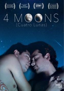 4 lunas, book cover