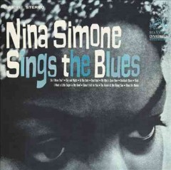 Nina Simone Sings the Blues, book cover