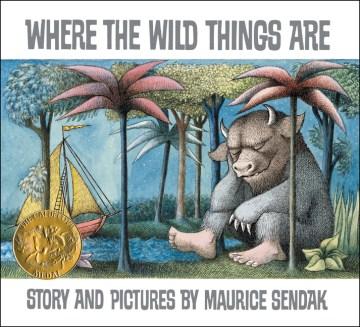 Nơi có những điều hoang dã, bìa sách