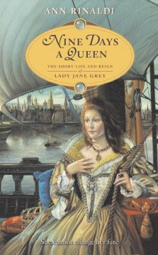 Nine Days a Queen, book cover