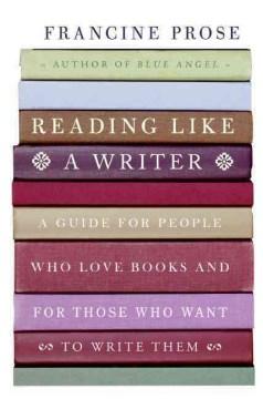 Leer como un escritor, portada del libro