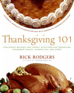 Thanksgiving 101, book cover