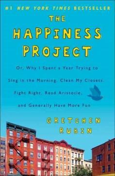 The Happiness Project, portada del libro