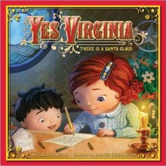 Yes, Virginia There is a Santa Claus, book cover