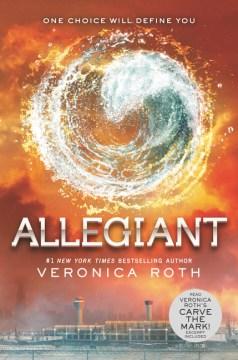 Allegiant, book cover