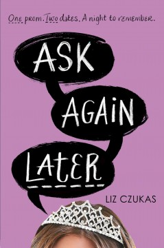 Ask Again Later, book cover