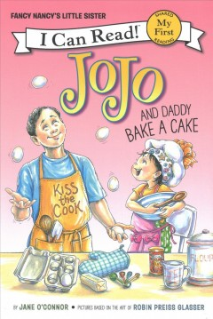 JoJo and Daddy Bake A Cake, book cover