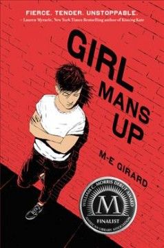 Girl Mans Up, book cover