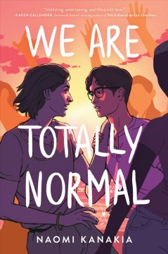 We Are Totally Normal, book cover