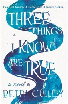 Three Things I Know Are True, book cover
