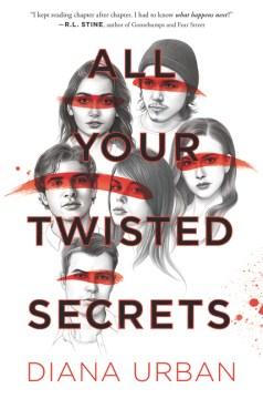 All Your Twisted Secrets, portada del libro