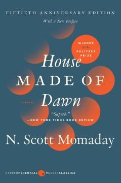 House Made of Dawn, portada del libro