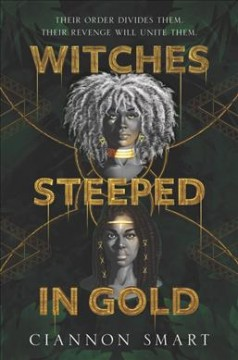 Witches Steeped in Gold, book cover